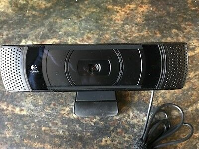 Logitech V-U0022 TV Cam HD Skype Webcam 1280 X 720