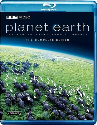 Planet Earth: The Complete Series (Blu-ray Disc, 2007, 4-Disc Set)