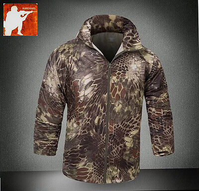 MANDRAKE HIGHLANDER Windshell Quick Dry Skin Jacket Hunting Summer Kryptek Men