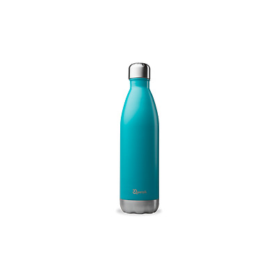 Bouteille isotherme bleu turquoise - thermos 750 ml