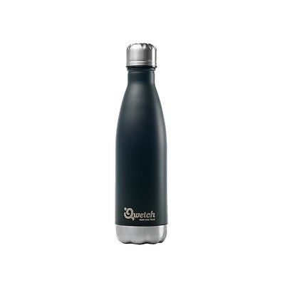 Bouteille isotherme inox noir - thermos 500 ml