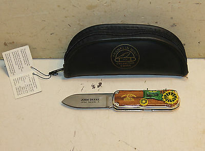 Franklin Mint John Deere 1934 Model A Folding Knife