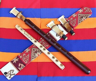 3reeds DUDUK +National CASE NEW FROM ARMENIA Hand made APRICOT WOOD +instruction