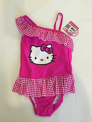 NWT Hello Kitty Toddler Bathing Suit-5T