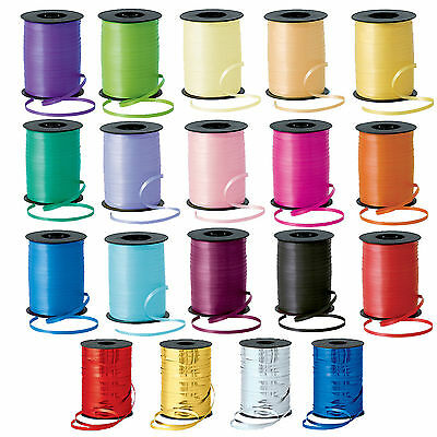 50m Curling RIBBON Tie - 25 Colours (5mm Wide)(Balloon/Craft/Gift Wrap/Art) gift