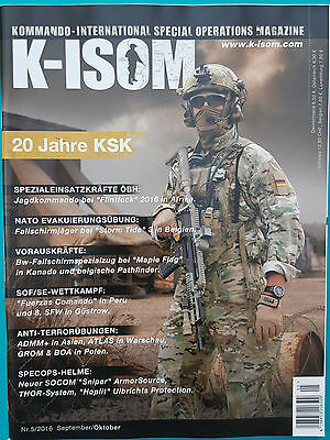 K-Isom Special Operations Magazin Nr.5/2016 Sep./Okt. ungelesen 1A absolut TOP