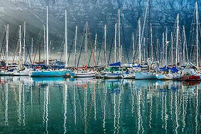 TANG-ICS1334D2416C-Tangletown Fine Art Hout Bay Harbor44; Hout Bay South Africa