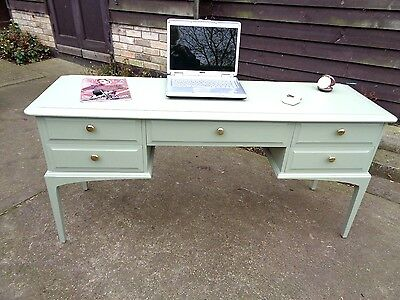 Stag Painted D/table Desk/consul Table Tea Green