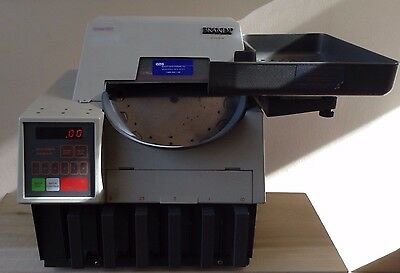 Brandt Coin Counter and Sorter Model 957 Change Quarters Nickels Dimes Pennies