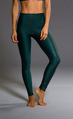 Onzie Hot Yoga High waisted Legging 228 Green Venom