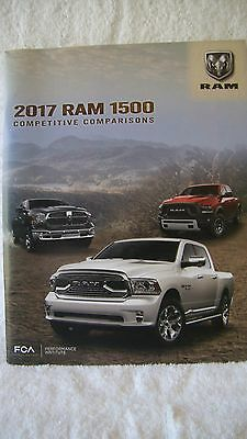 2017 Ram 1500 Auto / Truck  Product Info Competitive Comparisons Booklet