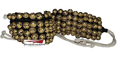 Classical Dance Accessories Ghungroo Best Quality 4 Line 40 Dancing Bells(Black)