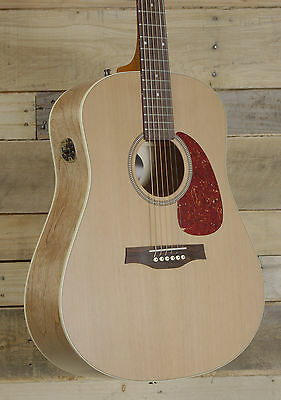 Seagull S6 Original Slim Acoustic Electric guitar QIT Electronics