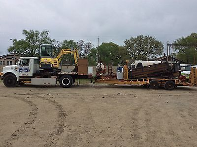 Directional Drill Rig, D16x20II, Vio 27-5, International 4900, Belshe Trailer