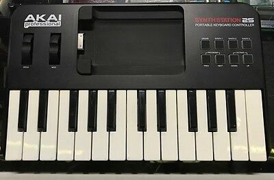 Akai Professional SYNTHSTATION25 25-Key Keyboard Controller For iPhone and iPod