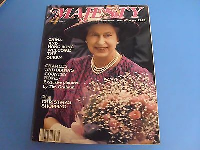 MAJESTY MAGAZINE THE MONTHLY ROYAL REVIEW VOLUME 7 No. 8