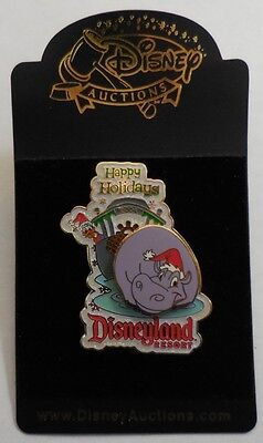 Disney Pin Disney Auctions Disneyland Happy Holidays Donald Duck Pin LE1000