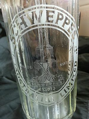 Vintage Schweppes Australia Soda Water Fountain Bottle