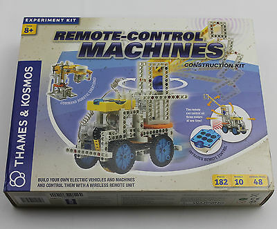 Thames and Kosmos 555004 Remote-Control Machines Experiment Kit