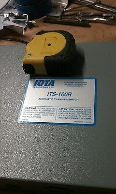NEW IOTA ITS-100R  100 amp automatic  transfer switch