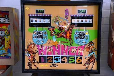 WINNER HORSE PINBALL MACHINE by WILLIAMS 1972 VERY RARE