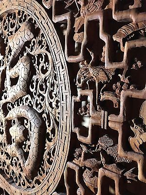 Asian carving, antique,Wall art