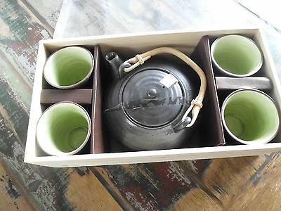 Chinese teapot and cup giftset - pickup only