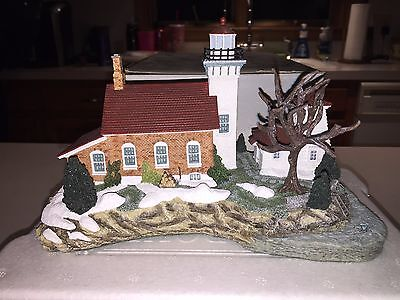 2001 Harbour Lights Sherwood Point WI #265 Signed Limited Ed. #1617 COA in Box