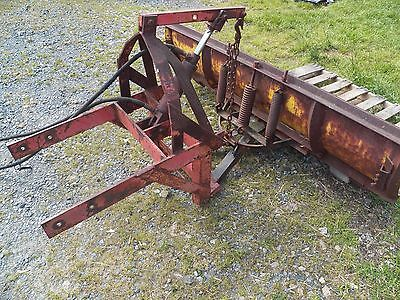 Snow Plow Mid size Tractor 6 1/2 ft. Front Blade w Hydraulics for Ford Farmall