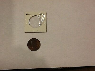 1822 large 1 cent coin