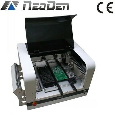 NeoDen4 vision pick and place machine, SMT machine with rails+ 30 feeders- J