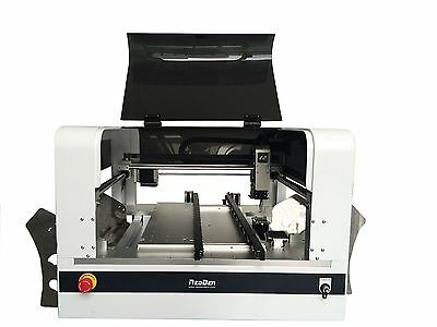 Neoden4 pick and place machine with camera plus 40 feeders,PCB prototype-H