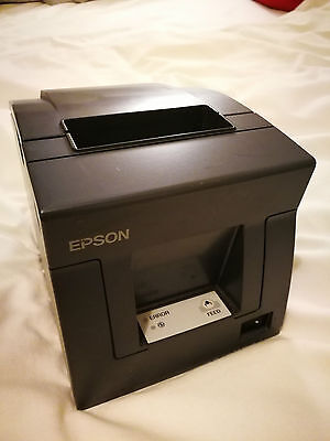Epson TM-T81 USB Thermal Receipt Printer - Black