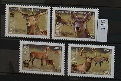 S0 0126 WWF Animals Tajikistan MNH 2009 Deer