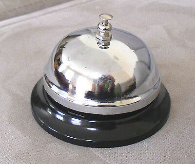 COUNTER SERVICE RECEPTION CALL BELL CHROME Office Restaurant Shop Hotel Bar