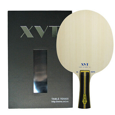 HIGH-END XVT  ZL KOTO ZHANGJIKE ZLC table tennis paddle  /table tennis blade