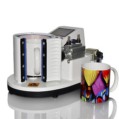 PNEUMATIC Mug Heat Press Machine Sublimation Printer Sublimation Transfer UK