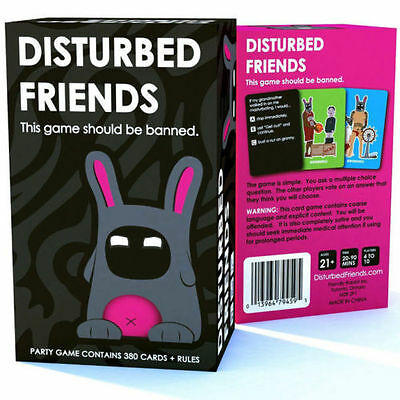 New Hotsale Disturbed Friends - This game should be banned Best Gift