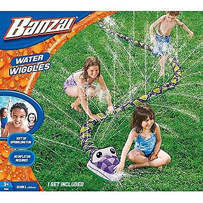 Banzai Water Wiggles Lawn Sprinkler Toy New Free Shipping