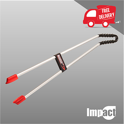 Litter Picker Ranger MAX Curved by Helping Hand - Ruggedly Constructed LIT04