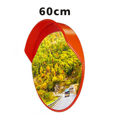 60cm Wide Angle Convex Security Safety Mirror for Curved Road Traffic Driveway