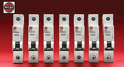 WYLEX NHX MCB Type B Circuit Breaker fuse for Wylex NH NM Consumer Units