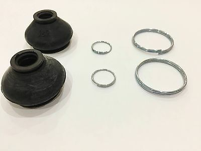 Mitsubishi Lancer Rubber Ball Joint Boots Dust Cover x 2 - FREE Metal Clamps