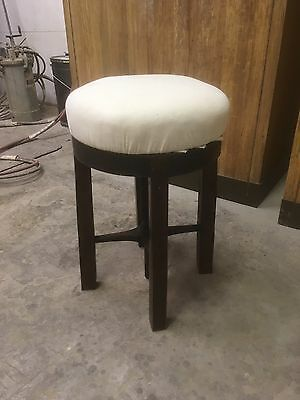 Fine Antique  Mahogany Adjustable Piano Stool - Traditional Upholstery