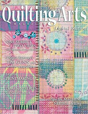 Quilting Arts Magazine February/March 2007 (Originally £5.95)