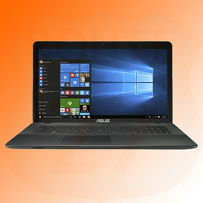 Asus 17.3 Inch Notebook Laptop Intel N3050 8GB RAM 1TB HDD DVD Win 10