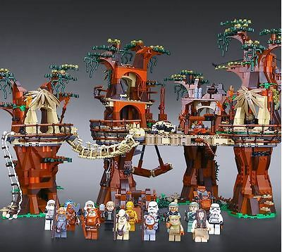 Star Wars Ewok Village STARWARS for Lego compatible 10236