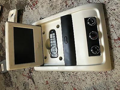 2009 Dodge Journey Rear Over Head DVD Screen Monitor Remote P1CM00DW1AH