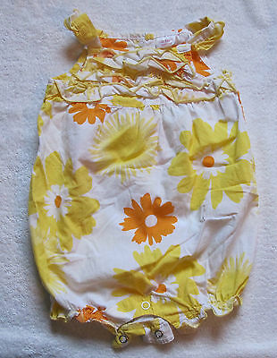 Girls Baby Infant Carter's one piece top shirt outfit size 9 M months