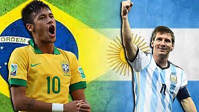 Brazil Vs Argentina soccer ticket- Melbourne Cricket Ground- 9JUN 2017
